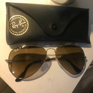 Ray-Ban Accessories - Classic Aviator Ray Ban Sunglasses - Polarized